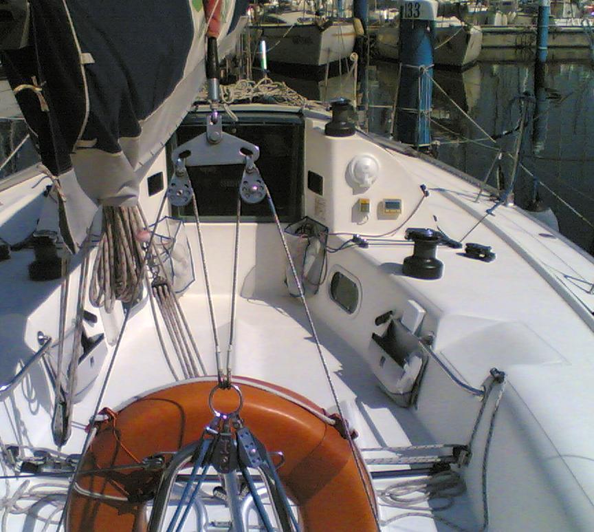 Attrezzatura di coperta sail service for Piani di coperta compositi
